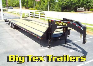 Big Tex 10 Ton Gooseneck Equipment Trailers 25ft to 40ft Starting at $7600