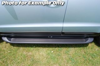 Custom Running Boards 99 07 Chevy Silverado Sierra Reg Cab Black Truck Steps