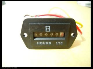 110 240 Volts AC motorhome Tach Hour Meter Hourmeter Generator or Other