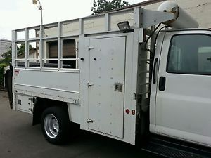 Service Truck Utility Bed Body Tool Box Air Compressor