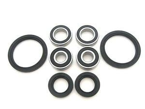 Both Front Wheel Bearings Seals Kit Yamaha YFB250 Timberwolf 2WD 1992 1993 1994