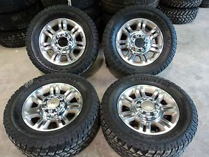 "Used 05 13 F250 20"" Ford King Ranch Wheels and Toyo A T Tires KB910A"
