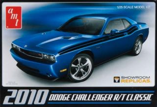 AMT 1 25 '10 Dodge Challenger R T Model Kit AMT671 671
