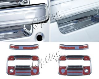 04 11 Ford F150 Chrome Front Door Handle Covers 2dr Set