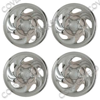 "Skin Cover for Ford F150 Steel Wheel 4 Piece Set 16"" inch Chrome Rim Hub Cap"
