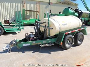 2006 Wylie W1245S Water Wagon 500 Gallon Tank Honda Engine Pump Trailer Sprayer