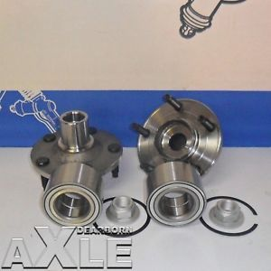 2 New Front Wheel Hub Bearing Assembly 518515 Set Pair