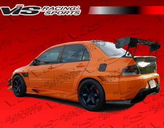 2003 2007 Mitsubishi evo8 9 4DR VTX Widebody Vis Full Body Kit