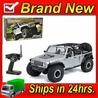 New Axial AX90028 2012 Jeep Wrangler Unlimited Rubicon 1 10 4WD RTR Rock Crawler