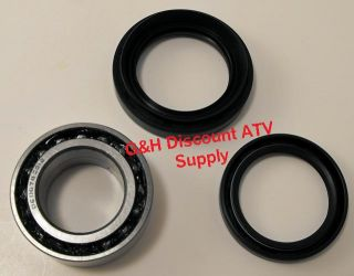 4WD 00 06 Honda TRX350 Rancher Front Wheel Bearing Seal Kit 1 Wheel TRX 350