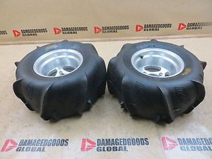 2005 05 Polaris Predator 500 New ITP Rear Wheel Set Rims Tires Wheels