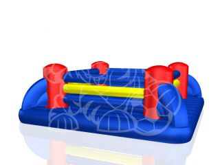 Inflatable Boxing Ring Interactive Game Bounce House