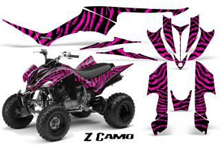 Yamaha Raptor 350 Graphics Kit Creatorx Decals Stickers ZCPB