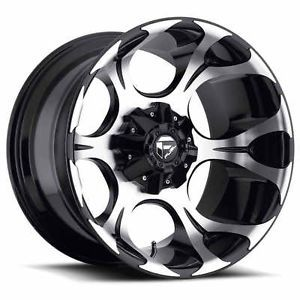 "20"" Fuel Dune Black Wheels Toyo AT2 Tires 6x5 5 6x135 6 Lug Chevy GM Ford Truck"