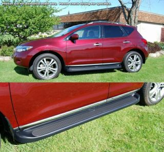 Factory Style Molded Running Boards 09 2012 Chevy Traverse Side Step w Brackets