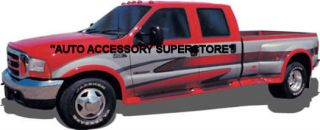99 10 Ford Superduty Dually Full Flared Running Boards with Fender Flares