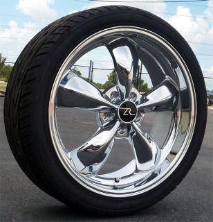 Chrome Mustang Bullitt Wheels 20x8 5 20x10 Toyo Tires