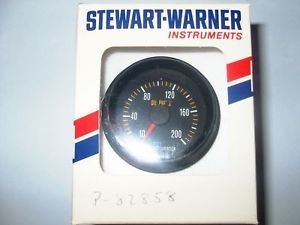Mechanical Oil Pressure Gauge New Stewart Warner
