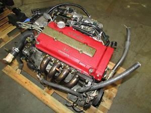 JDM Honda Civic Type R B16B EK9 Engine 1 6L DOHC vtec Motor Mugen Headers