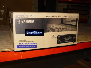 Yamaha RX V775WA 7 2 Channel Home Theater Audio Video A V Receiver Amp RXV775