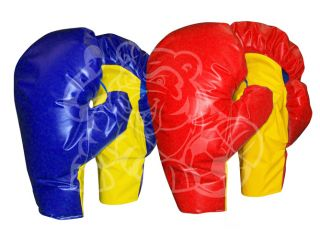 Boxing Gloves Pair Helmet Inflatable Bounce House