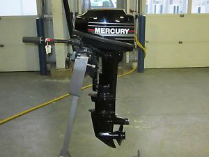 1992 Mercury Marine 8 HP Outboard Boat Engine Motor Long Shaft 20""