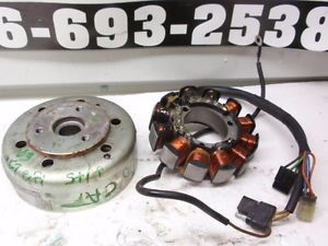 2003 Arctic Cat F7 EFI Snowmobile Engine Stator and Flywheel FP9311 M7 700