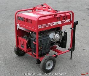 Multiquip GAW180HE Portable Generator Welder Honda Powered Engine Cart Wheeled