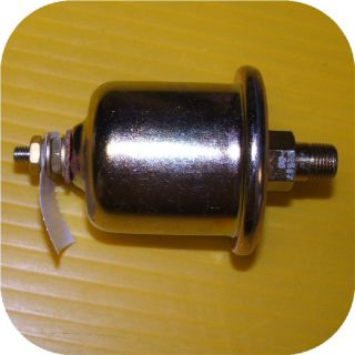 Stewart Warner Oil Pressure Sender Hot Rod Gauge Rail