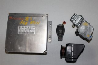 98 99 00 Mercedes Benz CLK CLK320 ECU Engine Computer Eis Ignition w Key ESL