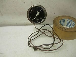 "60s Stewart Warner 2 5 8"" Fuel Pressure Gauge Light Socket AMC Chevy Ford Mopar"