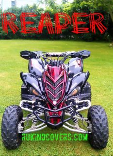 Yamaha Raptor 660 New Reaper Eyes Headlight Covers MX ATV Rukindcovers""