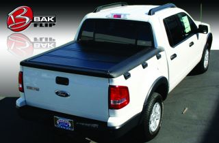 Bakflip F1 Tonneau Bed Cover 06 13 Ford Sports Trac Crew Cab Short Bed 4'3""