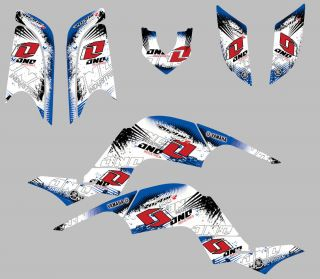 Yamaha Raptor 660 Graphics Kit Sticker RAPTOR660 Kit Quad ATV Decals Kit One