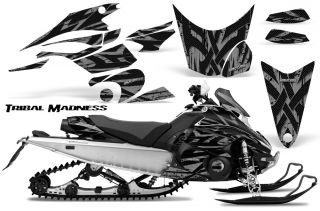 Yamaha FX Nytro 08 12 Snowmobile Sled Graphics Kit Creatorx TMS