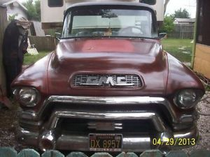 1955 56 57 GMC Chevy Short Bed Step Side Pickup Big Window