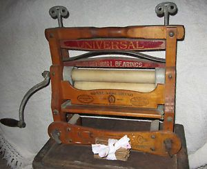 Universal Horse Shoe Brand Clothes Wringer Bucket Wringer Washer Advertiseing