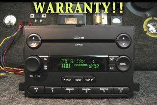 Ford 6 CD Disc  Changer Radio F150 Mustang Explorer Edge Expedition 06 07 08