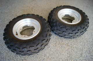 Yamaha Raptor 350 Front Wheels Tires 660 YZF 450 700
