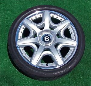 Set Genuine Bentley Continental GT Flying Spur Mulliner 20 inch Wheels Tires
