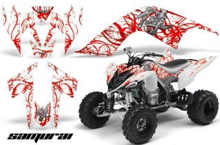 Yamaha Raptor 700 Graphics Kit Decals Stickers Creatorx Samurai RW