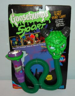 1996 Goosebumps Sport Halloween Horror Scary Sport Trick or Treat Light