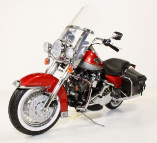 Franklin Mint Harley Davidson Road King Classic Diecast Model Motorcycle 1 10