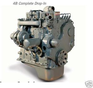 Cummins 4B 3 9 Liter Turbo Diesel Engine Build to Order