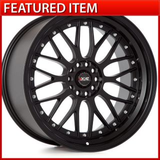 XXR 521 20 20x10 5 5x114 3 5x120 30 Flat Black Wheels Rims G37 370Z 350Z