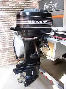 Mercury Outboard Motor 35HP Electric Start Oil Injected