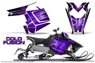 Polaris Rush Pro RMK 600 800 Sled Snowmobile Graphics Kit Creatorx Wrap CFPR