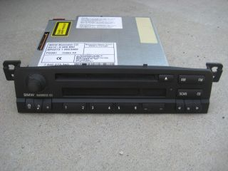 BMW E46 99 01 Business Radio CD Player 323 325 328 330 M3 Good