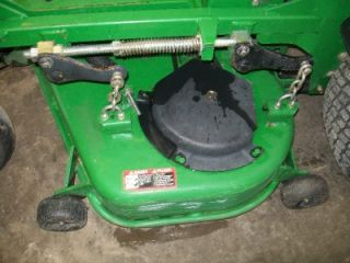 John Deere 717 Zero Turn Riding Lawn Mower Tractor NR