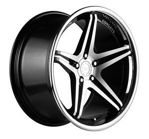 "19"" Vertini Monaco Staggered Wheels Rims Fit Nissan 350Z 370Z Altima Murano 03"